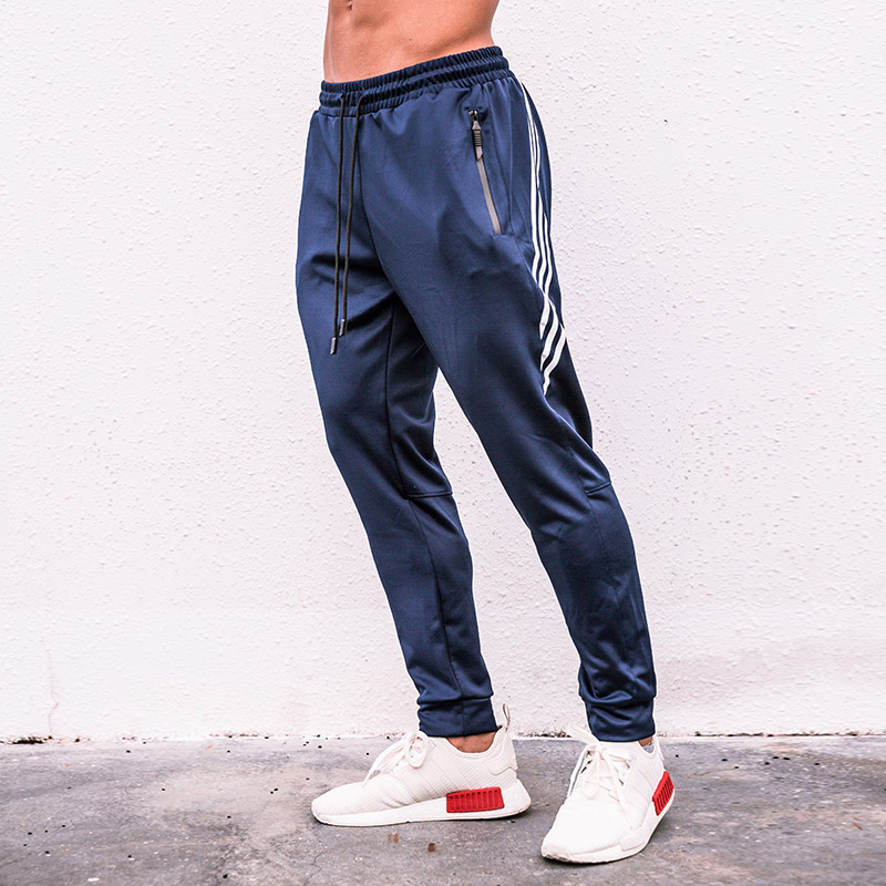 Men Jogging Pants  GYM Training Pant Sportswear Joggers Sports Pants Men's Running Swearing Jogging Sweatpants(China)