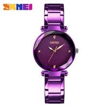 SKMEI Starry Quartz Women Watches Elegant Top Brand Luxury F