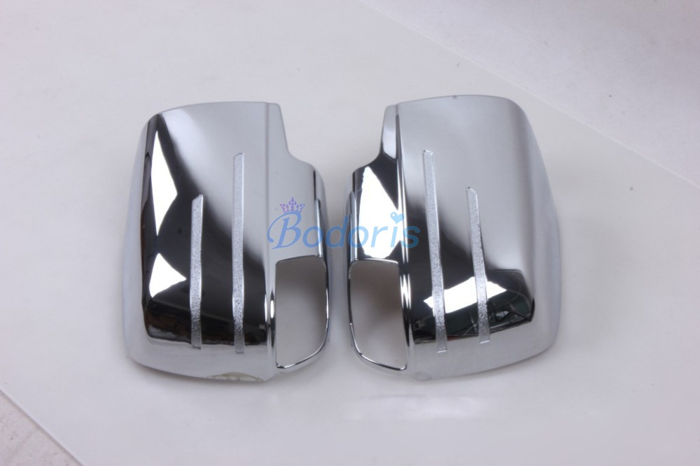 Chrome Car Styling Door Mirror Overlay Cover Trim Frame Garnish Panel Kit 2012 2015 For ISUZU DMAX D MAX D MAX Accessories