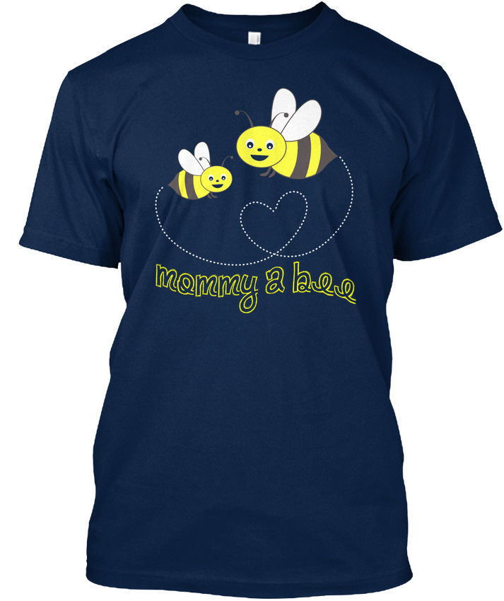 Mothers Day 2017 Mommy 2 Bee - A Stylisches T-Shirt