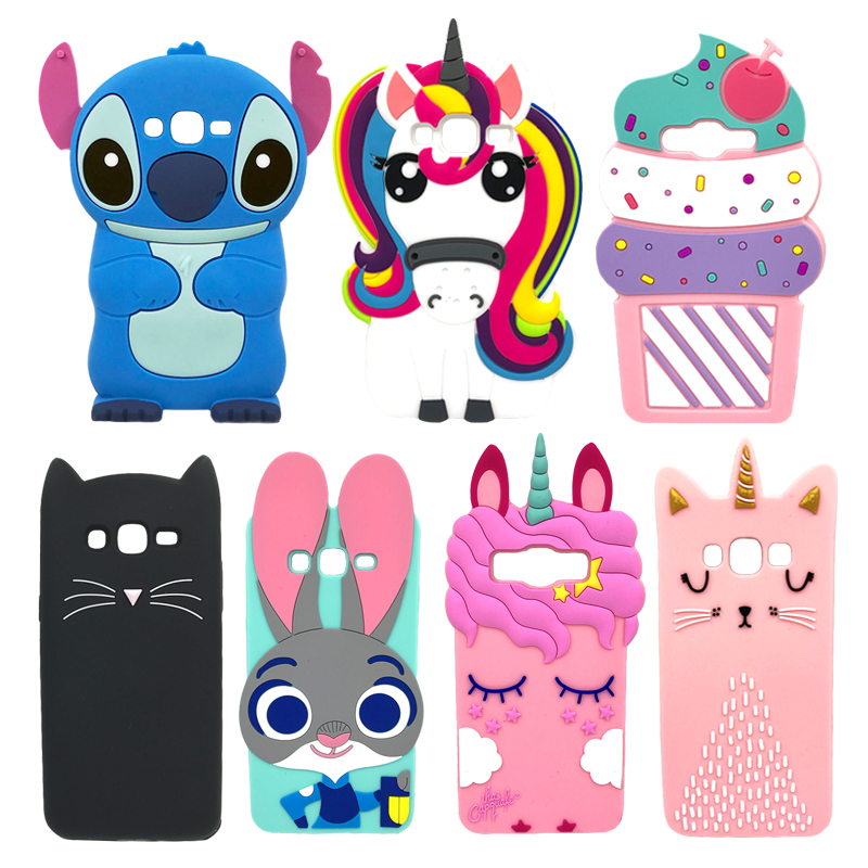 Phone Case For Samsung J1 Soft Silicone Back Cover 3D Case For Samsung Galaxy J1 2015 J100 J100F <font><b>J100H</b></font> J100G SM-<font><b>J100H</b></font> SM-J100FN image
