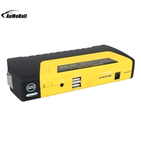 16800mAh Emergency Mini Car Vehicle Jump Starter With Power Bank Multi function LED Battery With Air Pump