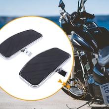 1 זוג אופנועים רגל יתדות דום Footpegs נשענת דוושות להונדה MAGNA VF250 VF750/ימאהה XVS 400/650 XV125/250/400 /535