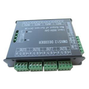 Image 2 - ハイパワー 24 チャンネル 3A/CH DMX512 コントローラ Led デコーダ調光 DMX 512 RGB LED ストリップコントローラー Dmx デコーダ調光器ドライバのための
