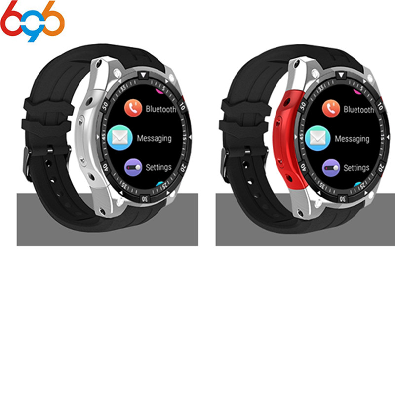 696 <font><b>X100</b></font> Bluetooth Smart Watch Heart rate Music Player Facebook Whatsapp Sync SMS <font><b>Smartwatch</b></font> wifi 3G WCDMA For Android Drop ship image