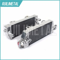 Left Right NEW Aluminium Cores MX Offroad Motocross Cooling Radiators For KTM 250 300 380