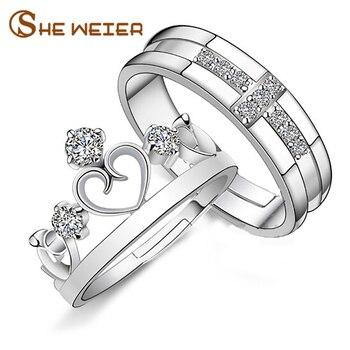fd014dabaf9f Ella WEIER anillo de compromiso para Mujeres Hombres anel pareja mujer dedo  Señor de los anillos