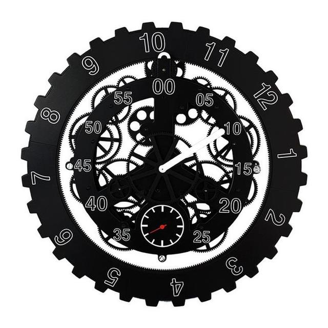 18 Inch Creative Gear Wall Clock Modern Design Living RoomBedroom