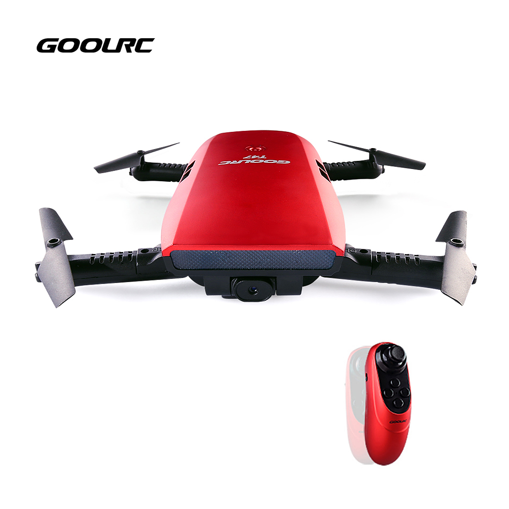 New GoolRC T47 6 Axis Gyro WIFI FPV 720P HD Camera Quadcopter Foldable Intuitive G sensor