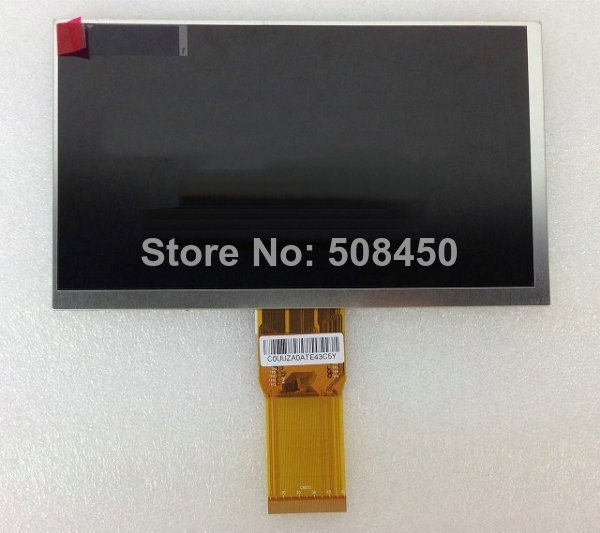 7 inch 50p YH070IF50H-A New LCD Display Matrix 7 inch TABLET YH070IF50H-A 163*97mm TFT LCD Display Screen Panel