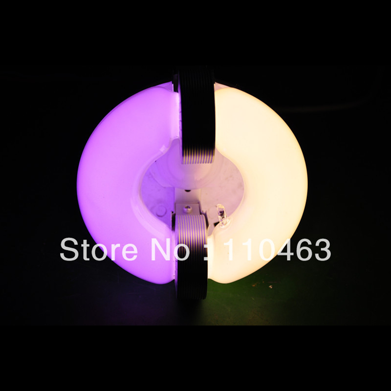 Induction grow lights 100W hydro and flowering induction lamps white yellow blue green red color 100W induction grow light