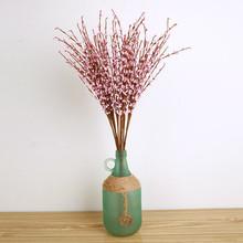Sztuczne dekoracje 1pc 12 oddziałów zimowe jaśminowe jedwabne bukiety kwiatowe sztuczne kwiaty na ślub sztuczne kwiaty do dekoracji tanie tanio Ślub FZ309 Bukiet kwiatów LOUCUNGAN winter jasmine