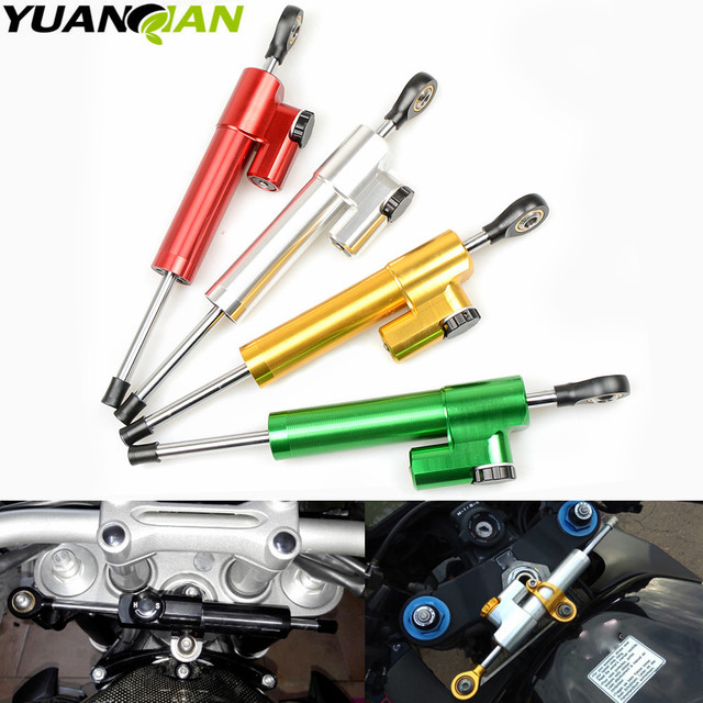for Kawasaki Z900 Z650 Z 650 Z 900 Universal Motorcycle Accessories Stabilizer Damper Steering for Yamaha MT 07 MT07 2014-2017