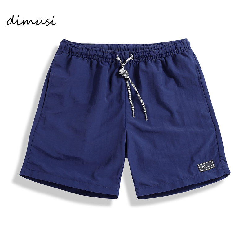 DIMUSI New Men's Shorts Summer Mens Beach Shorts Cotton Casual Male Solid Sports Shorts Homme Brand Clothing 5XL,YA726