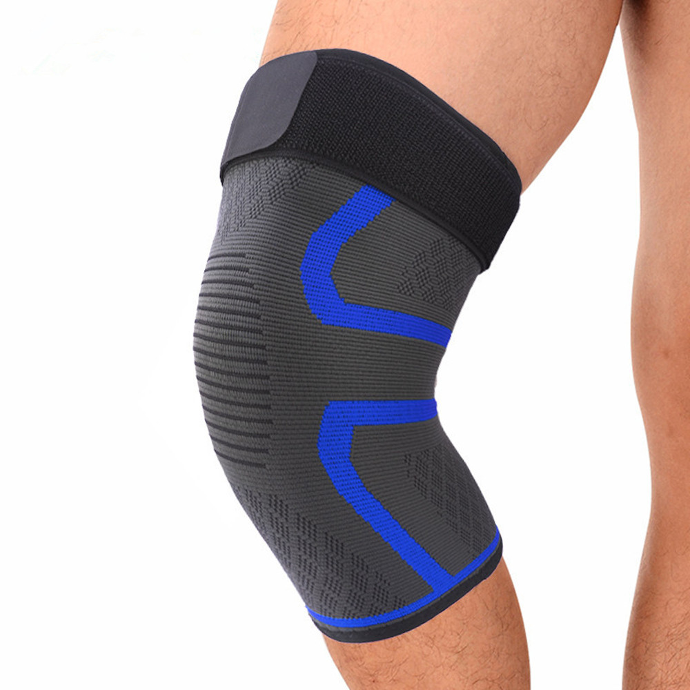 NEW Knee Sleeve Compression Brace Support For Sport Joint Pain Arthritis Relief Adult Cool Climbing Running Basketball Kneecap L