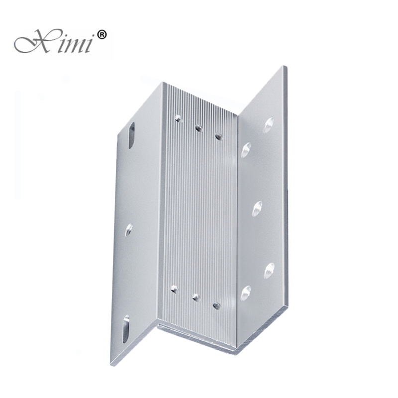 280KG Z Bracket For Access Control System Narrow Door EM Lock Install Z Bracket For 600LBS Magnetic Lock