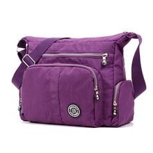 Bolso KipleWomen Messenger Bag Women Waterproof Nylon Handbag Female Shoulder Bag Ladies Crossbody Bag bolsa sac a main femme de
