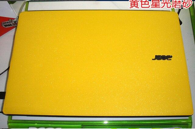 Ноутбук углеродного волокна виниловая кожа наклейка крышка для ASUS G73 G73JW G73JH G73SW 17,3-дюймов - Цвет: Yellow Star Matte