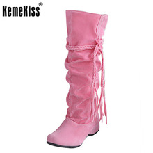 women flat half short sexy boots winter snow boot fashion quality footwear warm botas feminina shoes P8396 size 34-43