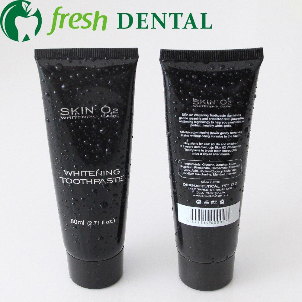 50PCS Home Use Teeth Whitening Toothpaste Whitening Kit Whitening Gel 80ml Skin O2 xanth ...