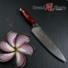 GRANDSHARP 8 Inch Professional Chef Knife Japanese Damascus Stainless Steel VG-10 Core Christmas Gift Cooking Tools  NEW