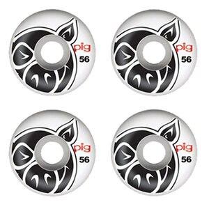 Image 2 - USA ยี่ห้อสาวหมู 4 ชิ้น/เซ็ต Pro 50 และ 52 และ 53 & 54 & 55mm USA สีเปลี่ยนล้อสเก็ตบอร์ดสำหรับ Ruedas Patines พลาสติก Rodas สเก็ต