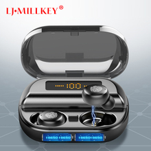 TWS Earphone IPX7 Waterproof Wireless Earbuds Bluetooth 5.0 Touch Control Headset Mini Stereo Sports Earphones for Phone YZ274