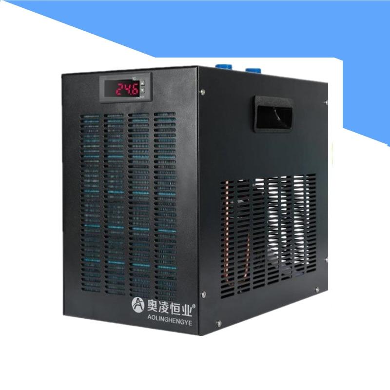 Аквариум Чиллер аквариум охлаждения машина круче пресной воды Компрессор охладитель воды для 160L
