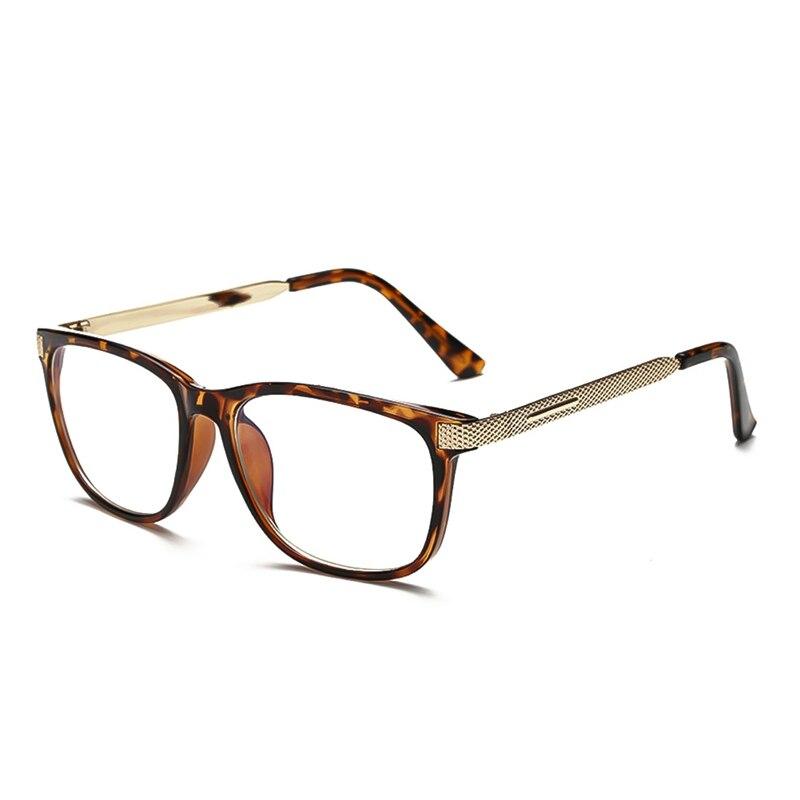 2019 Fashion Cool Glasses Women Retro Vintage Reading Myopia Eyeglasses Frame Men Square Glasses Optical Clear Eyewear Oculos