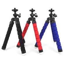 Mini Xốp Chân Đế Tripod Giá Đỡ Cho Gopro Hero 7 6 5 4 Phiên Xiaoyi Xiaomi Yi 1 2 4K lite SJCAM Camera Thông Minh Phụ Kiện Điện Thoại