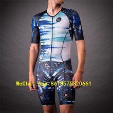 bicycle High quality wattieink Quick Dry cycling jersey skinsuit triathlon ropa ciclismo speedsuit jumpsuit usa bicicleta