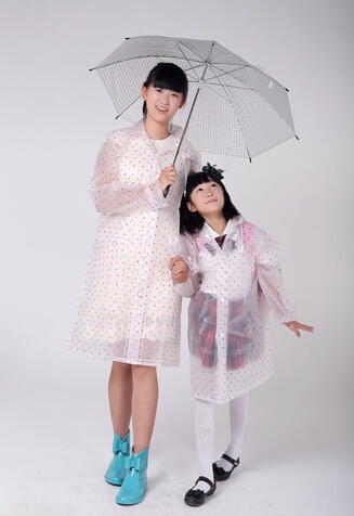 Winter Transparent Raincoat Sets For Children Kids Waterproof Rain Poncho Coat Pants Capa De Chuva Child Chubasquero Mujer