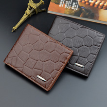 Men Wallet Vintage Short Brand Luxury Slim Male Purses Money Clip Credit Card Dollar Price Stone pattern Wholesale wallets 279 men wallet leather vintage purses high quality money bag credit card holders new dollar bill scrub short wallet wholesale price