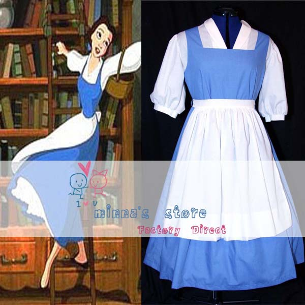 Aliexpress.com : Buy Free shipping Custom made Princess belle blue ...
