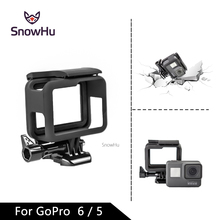 Купить с кэшбэком SnowHu For GoPro Accessories Hero 5 Protective Frame Case Camcorder Housing Case For GoPro Hero5 Black Action Camera LD03