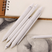 6pcs/set Blending Smudge Stump Stick Tortillon Sketch Art White Drawing Pen Tool Rice Paper Painting pens