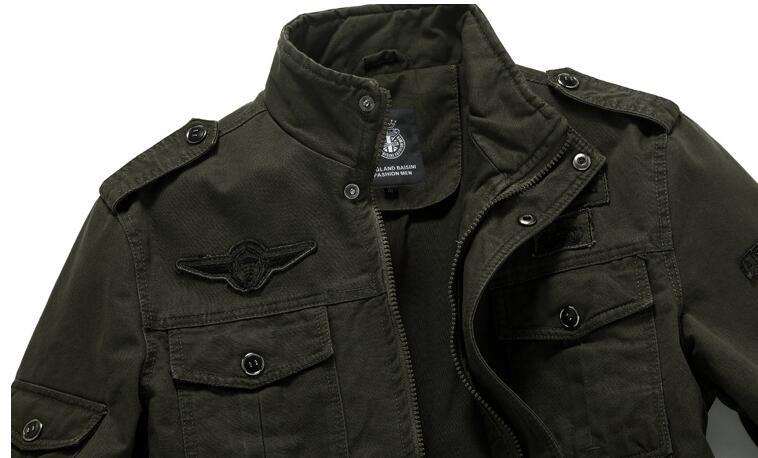 HTB1WX4ohpzqK1RjSZFvq6AB7VXa1 Winter Cargo Plus Size M-XXXL 5XL 6XL Casual Man Jackets Army Clothes Brand 2018 Mens Green Khaki 3 Colors Military Jacket