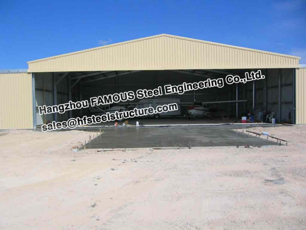 Hydraulic/Electrical Prefabricated Aircraft Hanger Door And Aviation Building Airplane Bifold Doors Vertical Lifting System