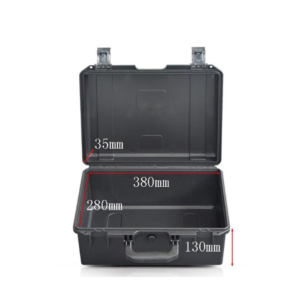 SQ3828 internal 380*280*165mm Plastic waterproof protection box with DIY foam коробка для мушек snowbee slit foam compartment waterproof fly box x large