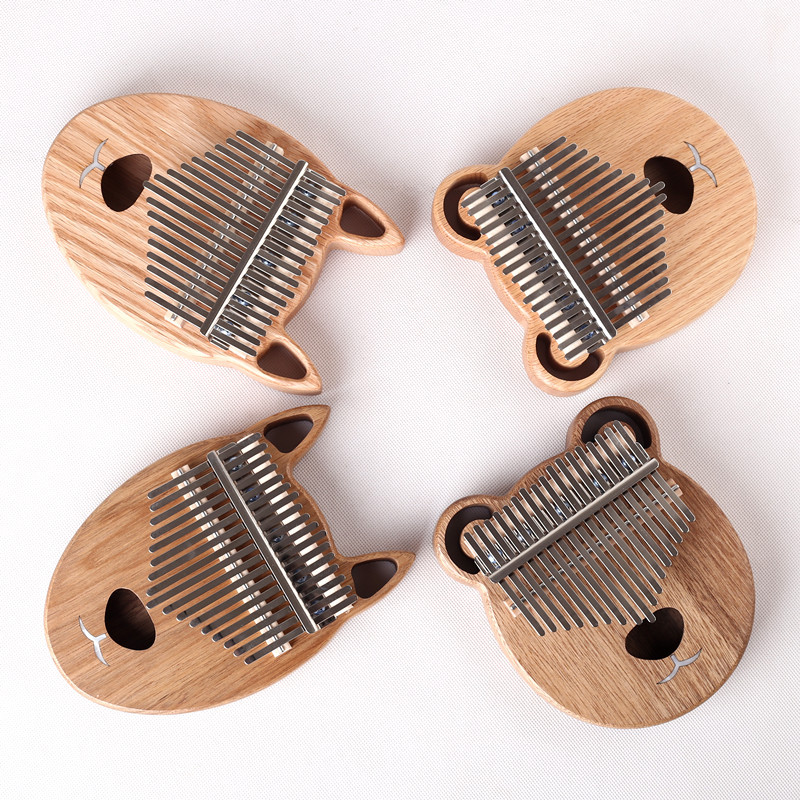 17 Key Kalimba African Thumb Piano Finger Percussion Keyboard Music Instruments Kids Marimba Wood Kalimba marimba plus