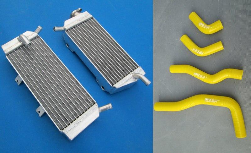 NEW for HONDA CRF450X CRF 450 X 2005-2013 Year Aluminum Radiator /& Silicone Hose