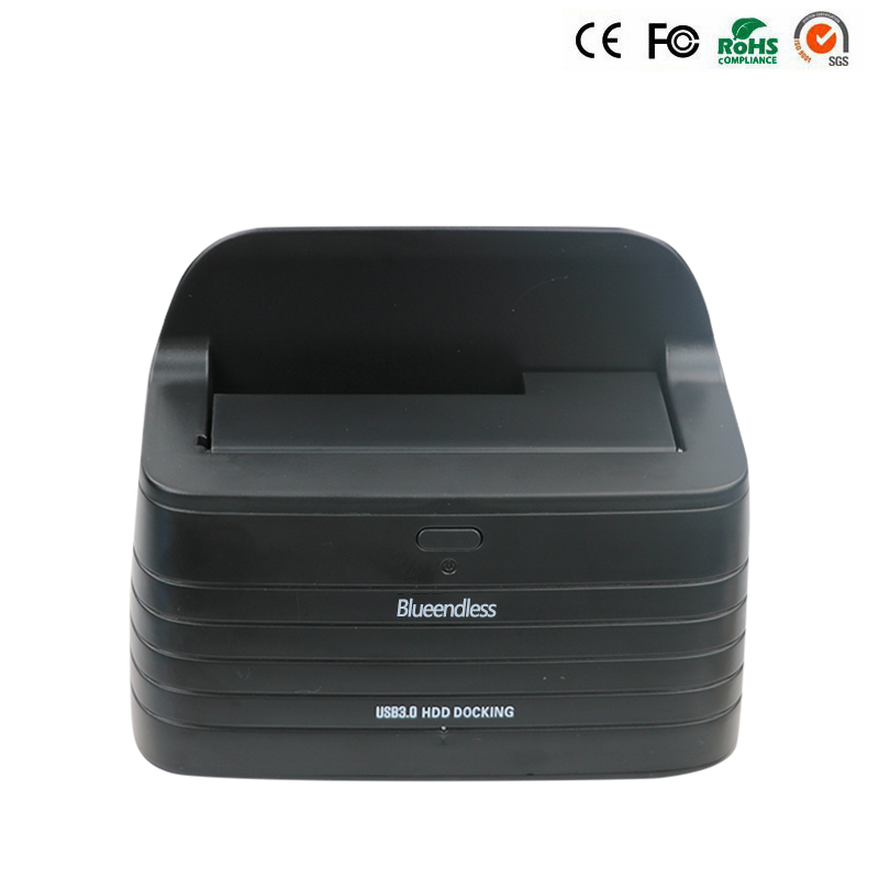 New usb external hard drive hd usb 3.0 hdd docking 1 bay usb 3 hard drive enclosure 2.5 hdd caddy 9.5mm 3.5 inch hdd docking