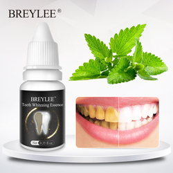 BREYLEE Teeth Whitening Essence Oral Hygiene Cleaning Serum White Gel Teeth Care Tooth Bleaching Dental Tools Perfect Smile 10ml