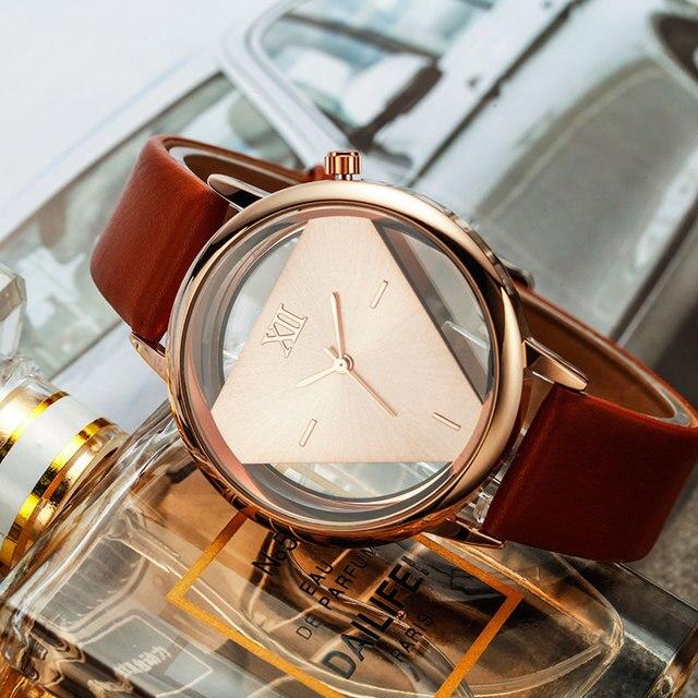 Women Luxury Leather Strap Watch 2