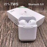 Новый i11 наушники-вкладыши tws Bluetooth наушники стерео i9s наушники-вкладыши tws с V5.0 спортивные наушники Беспроводной гарнитура i7s tws наушники-вкл...