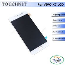 For VIVO X7 Withe LCD Display Touch Screen Digitizer Smartphone Replacement