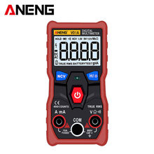 ANENG V01A Telt Digitale Multimeter Tester True-RMS intelligente NCV AC/DC Spanning Stroom Ohm Test Tool Digital Display Sale(China)