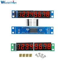 Módulo de Control de pantalla Digital MAX7219 LED, matriz de puntos de 8 dígitos para Arduino 3,3 V 5V, controlador de serie de 7 segmentos