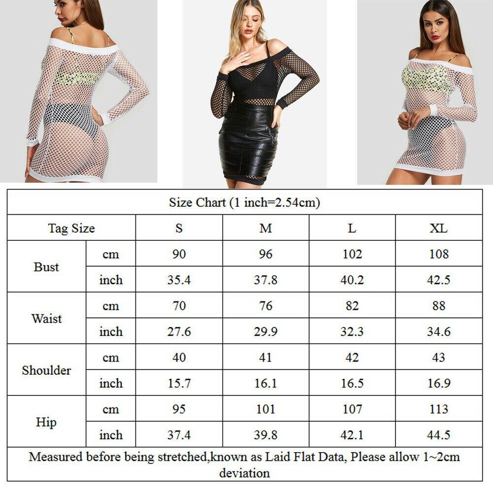 Sexy Mesh Hollow Transparent Dress Women Crochet Long Sleeve Swimwear Beach Dress Bikini Cover Up Party Club Short Dresses in Dresses from Women 39 s Clothing