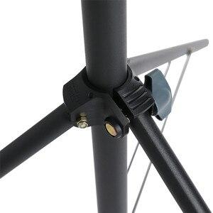 Image 4 - 2x230cm Support de lumière de photographie robuste charge maximale 5KG Support trépied pour éclairage photographique LLED lampe Softbox parapluie
